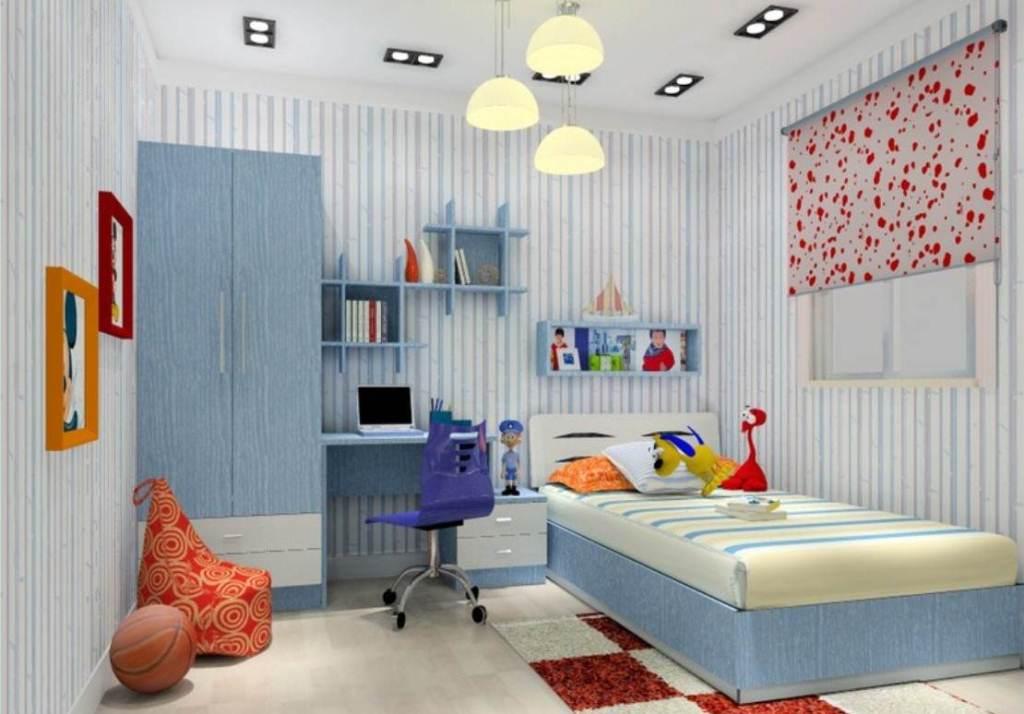 Hasil gambar untuk Desain Kamar Tidur Minimalis Ukuran 3×4 Dengan Wallpaper