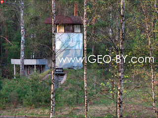 Бывшая охранная башня в части ПВО в Новоколосово