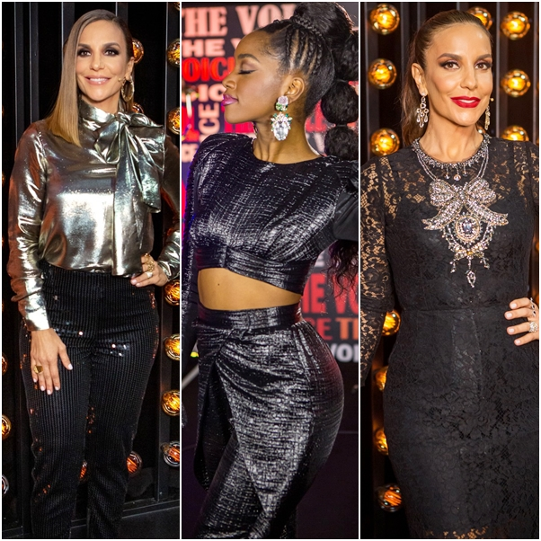 Melhores looks Iza e Ivete Sangalo no The Voice Brasil