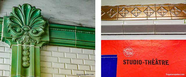 Estações de Metrô em Paris
