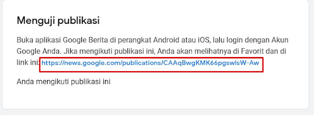 Link Google News