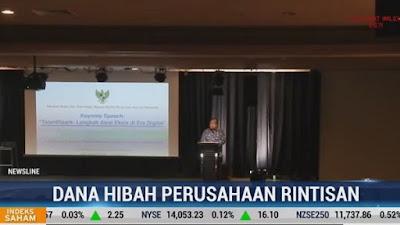 ilustrasi : Headline Berita Dana Hibah, MetroTv