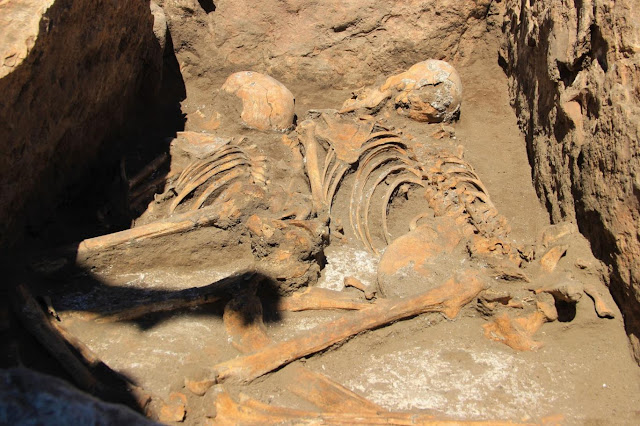 5,000-year-old double burial unearthed in central Turkey