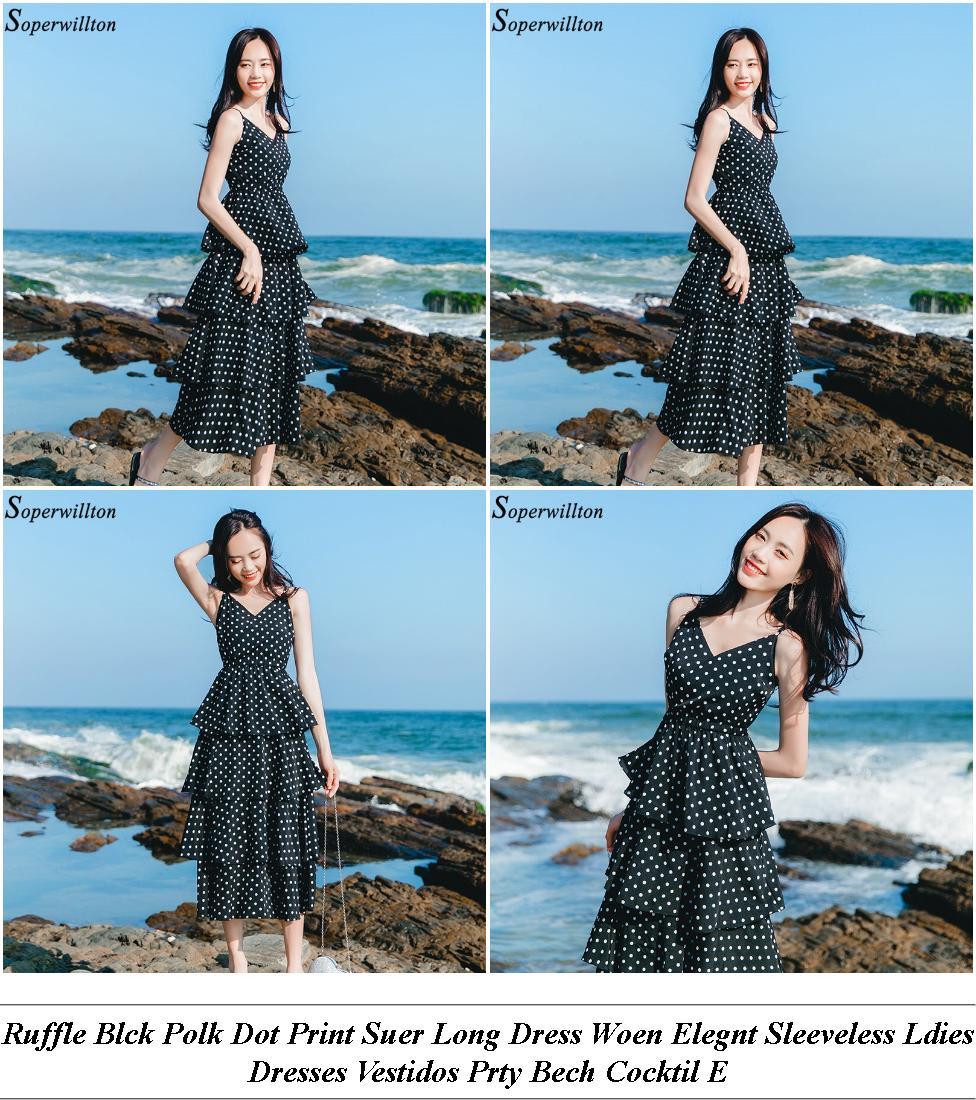 Summer Dresses - Summer Clearance Sale - A Line Dress - Cheap Online Clothes Shopping