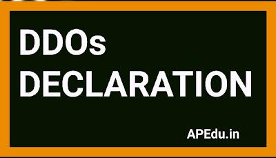 DDOs DECLARATION