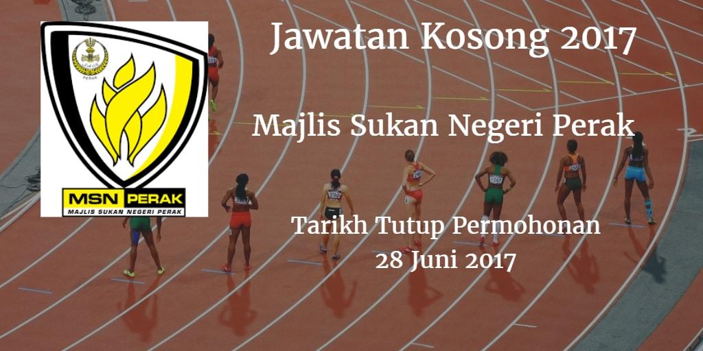 Jawatan Kosong MSN Perak 28 Juni 2017