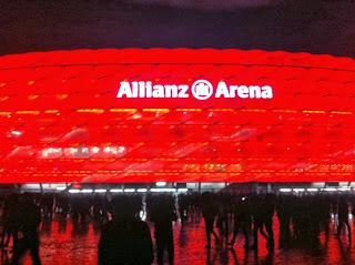 Fußballwochenende München, Allianz Arena, FC Bayern München