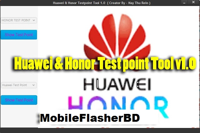 Download Huawei & Honor Testpoint Tool v1.0 Full Free For All By Jonaki Telecom