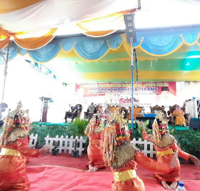 Gubernur Sumsel Resmikan PJU-TS Program PT.Imza Rizki  Jaya Grup