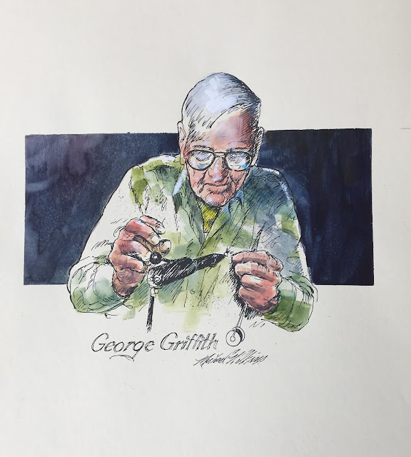 JEFF KENNEDY - Gates Lodge  Artist in Residence  Journal #6