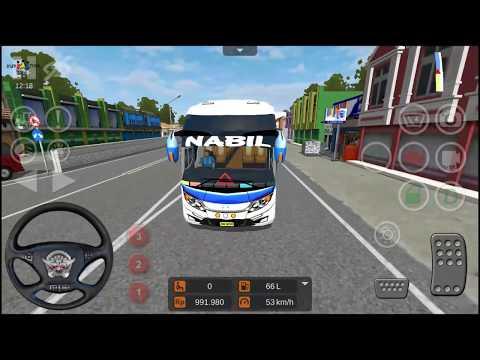 Asiknya Bermain Game Bus Simulator Indonesia