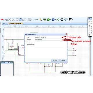 Merancang Sirkuit PCB Secara Online Gratis dengan EasyEDA