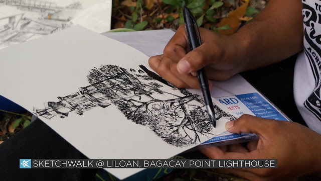 Sketchwalk @ Liloan, Bagacay Point Lighthouse