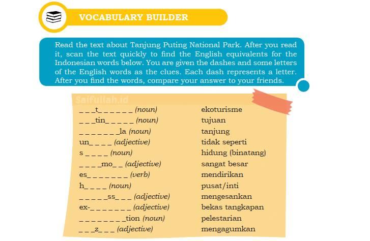 Kunci Jawaban Soal Bahasa Inggris Chapter 4 Halaman 52 Kelas 10 + Terjemahan