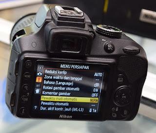 Jual Kamera Nikon D3300 Lensa Kit VR2 di Malang