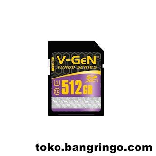 512GB - VGEN - SD Card Turbo Series