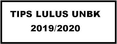 Tips Menghadapi UNBK SMP/SMA Tahun Pelajaran 2019/2020