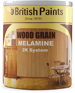 British Paints presents WOOD GRAIN 2K MELAMINE Premium Wood Finish
