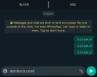 Copy Teks Kosong (Empty Character) untuk WhatsApp