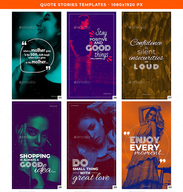 Quote Stories Templates 26483731