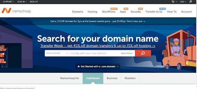 Hướng dẫn mua domain tên miền nhà cung cấp namecheap