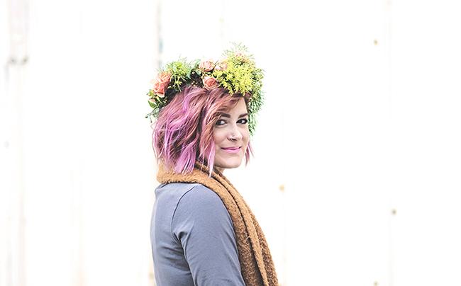 Boho Floral Crown