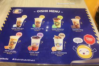 Street Boba punya 7 varian menu minuman kekinian boba