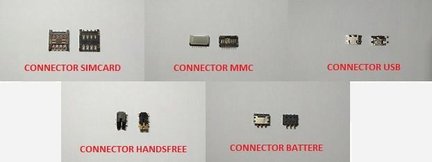 Macam-macam Connector handphone