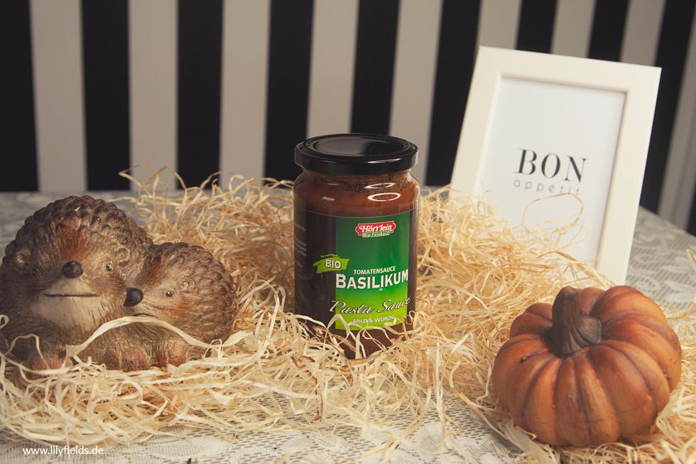 Hörrlein BioFeinkost - Pasta Sauce 'Basilikum'
