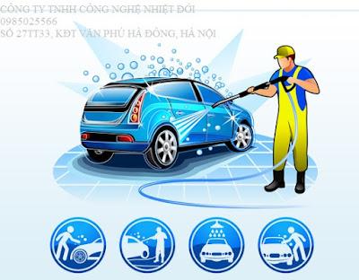 Hệ thống xử lý nước rửa xe