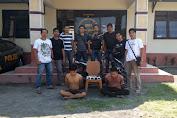 Timsus 3c Polres Lombok Timur bersama Anggota Polsek Suralaga Membekuk Kedua Pelaku Pencurian