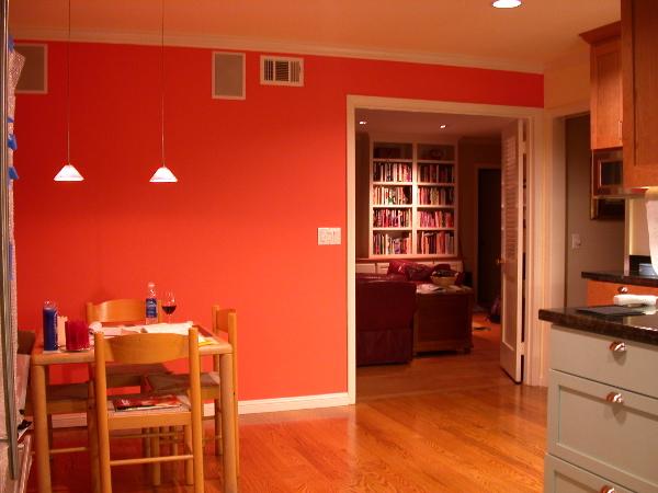 Orange Kitchen Walls Ideas: Interior Designs: Lets Talk Colors