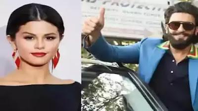 Ranveer Singh beats Selena Gomez on Giphy