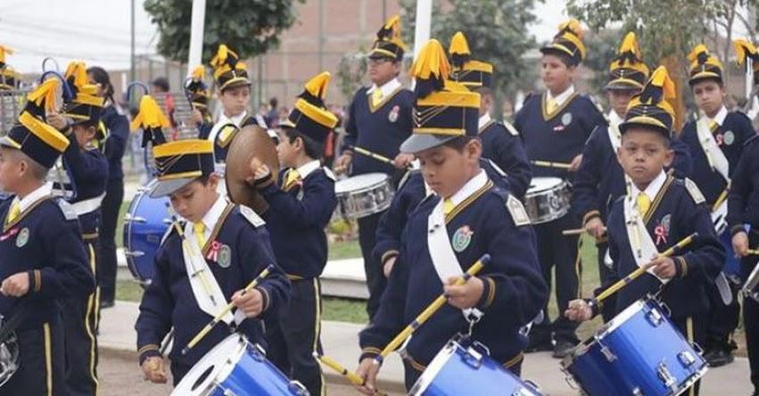 Realizan colorido desfile escolar por el 196 aniversario del Perú, organizado por la Municipalidad Provincial del Callao