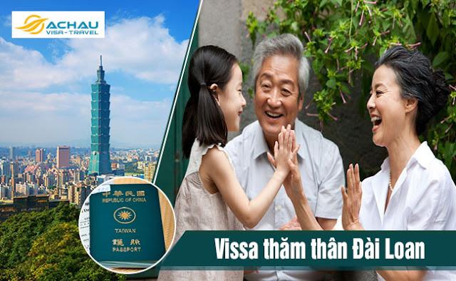 Ông bà nội có thể bảo lãnh cháu khi xin visa thăm thân Đài Loan không?