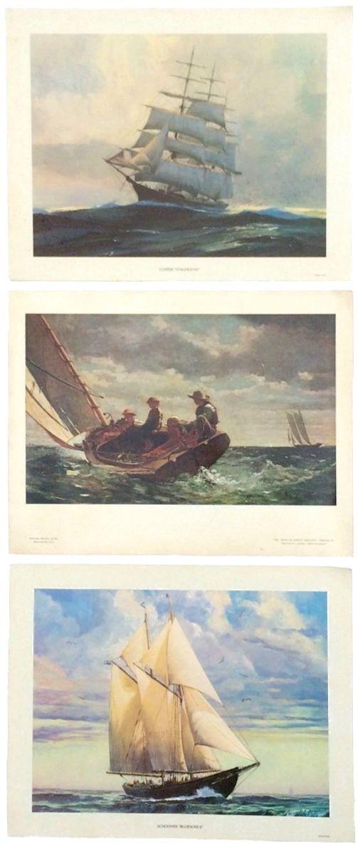 Vintage Sailing Yacht Prints