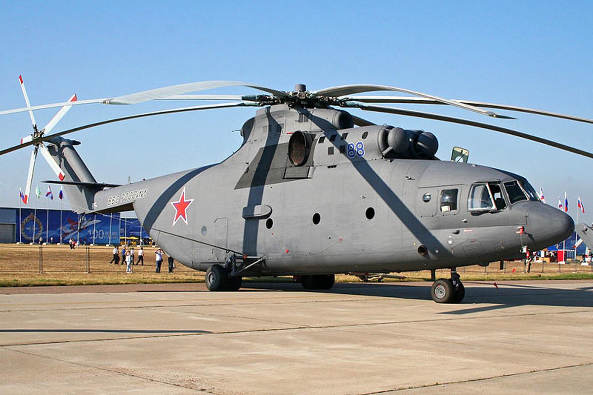 Mi-26 Buatan Rusia