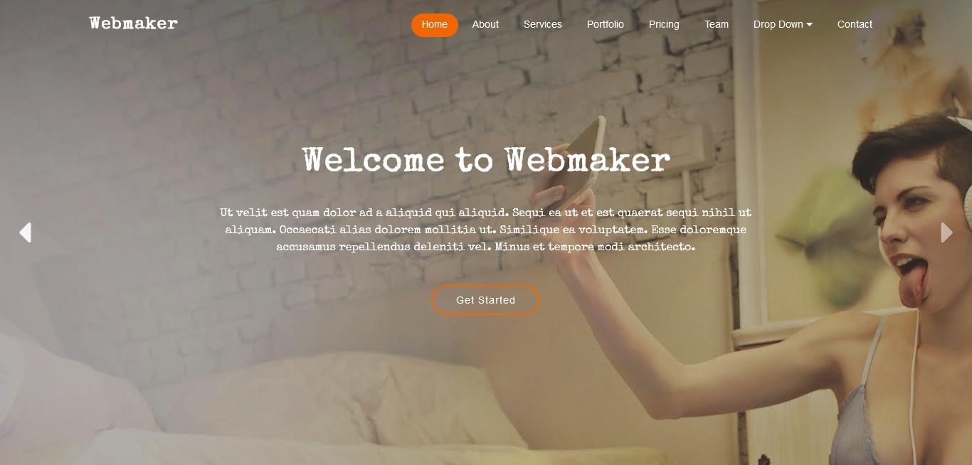 Webmaker Theme