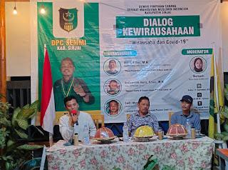 SEMMI Sinjai Gelar Dialog Kewirausahaan di Cafe Lampu Badai, Hadirkan Tiga Narasumber Handal