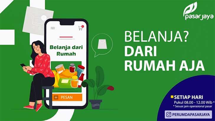 Belanja dari Pasar-Pasar di Jakarta Timur Cukup dari Rumah Saja