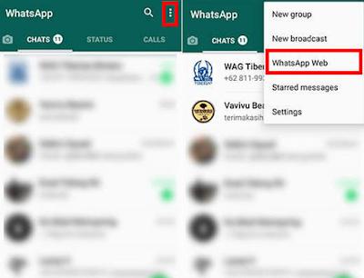 Akun WhatsApp Web (WA Web) Aktif di Perangkat Lain