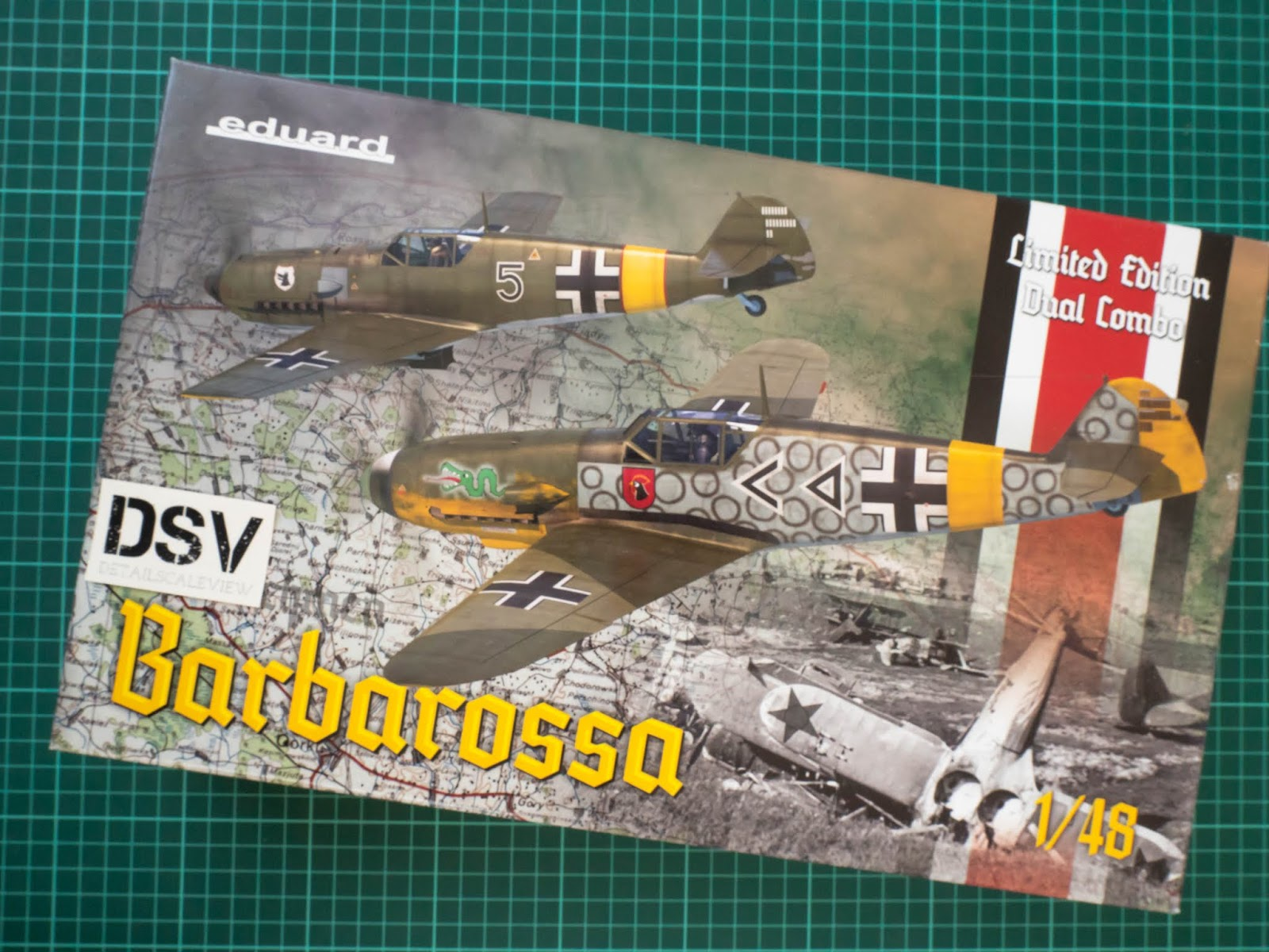 Limited Edition Neu Eduard Plastic Kits 11127-1:48 Barbarossa