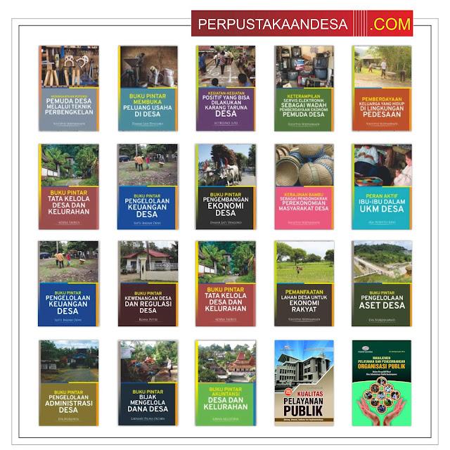 RAB Pengadaan Buku Perpustakaan Desa Di Jawa Timur Paket 80 Juta