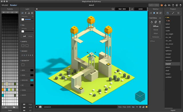 What is MagicaVoxel?