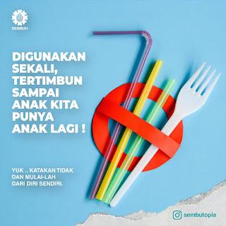 cara kurangi sampah plastik