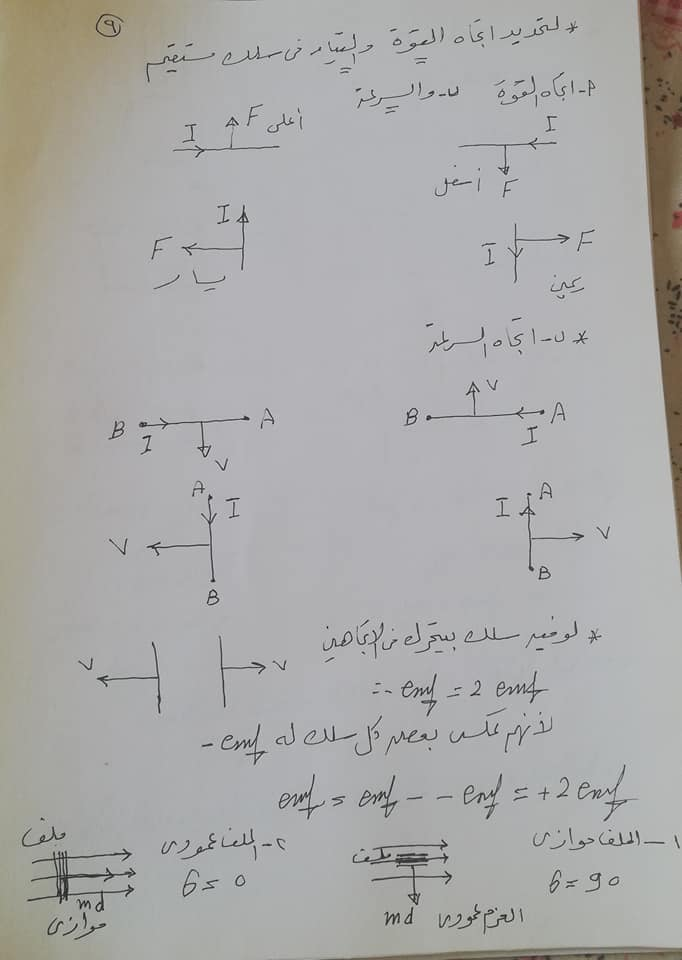 تريكات مهمة للحصول على الدرجة النهائية في امتحان الفيزياء للثانوية العامة 2021 9