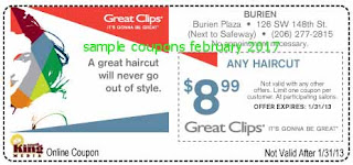 Great Clips coupons february