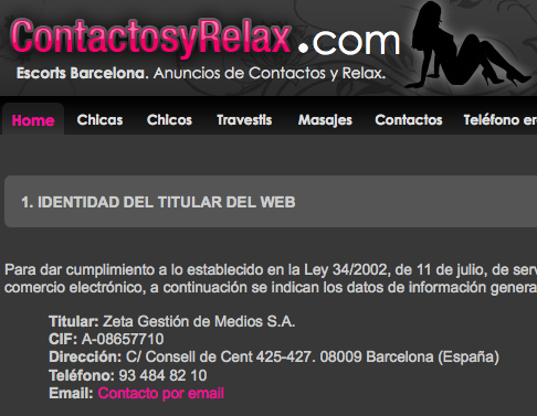 anuncios relax barcelona