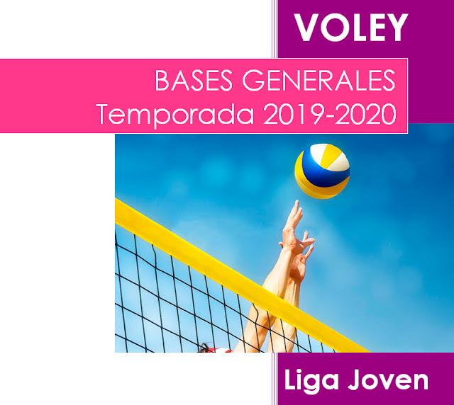 VOLEY: Disponibles nueva Bases Temporada 2019-20