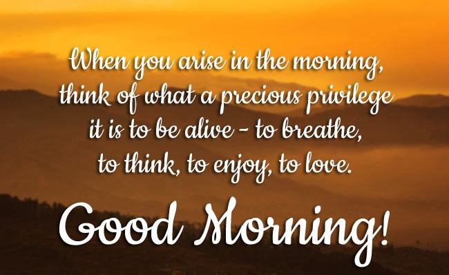 Best Beautiful Good Morning Quotes